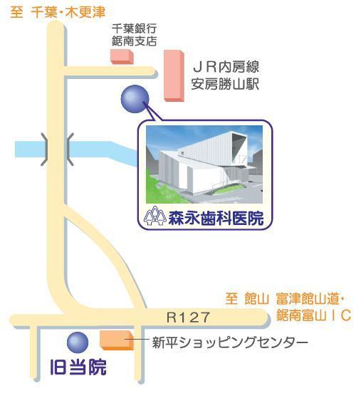 森永歯科医院へのアクセス